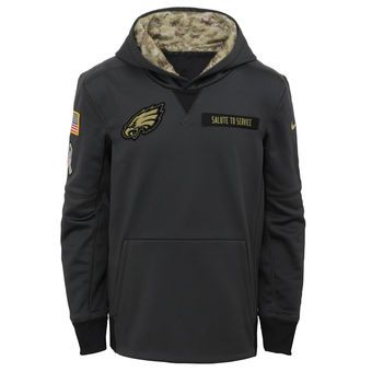 low priced 8c49d 73444 Youth Nike Charcoal Philadelphia Eagles Salute to Service ...