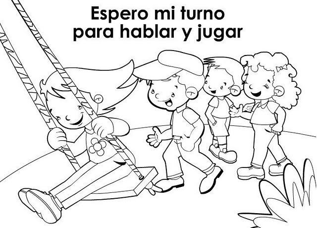 VALORES PARA NIÑOS EN BLANCO Y NEGRO. | Dibujos biblicos ...