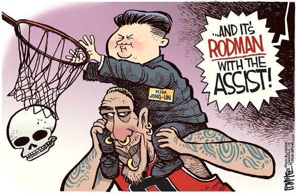 Cartoons of the day: Feb. 14, 2017 |Current Political Cartoons North Korea