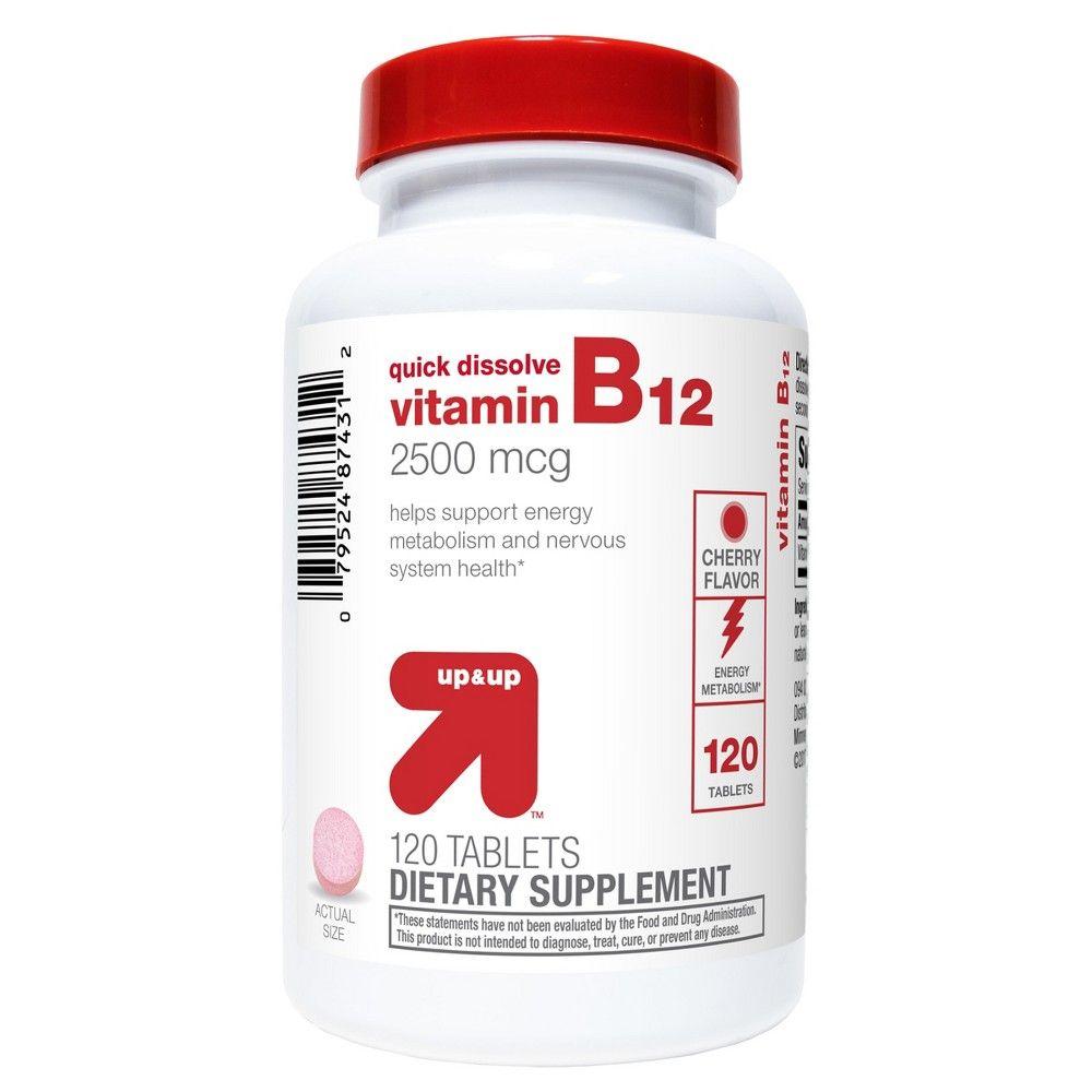Vitamin B12 2500mcg Quick Dissolve Tablets - Cherry Flavor