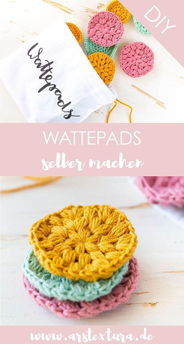 Faites vous-même des tampons de coton et évitez les déchets ars textura – Blog DIY   – DIY Ideen: Basteln, Deko & Wohnen