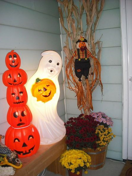 My Halloween Decorating So Far Decorating - my halloween decorations