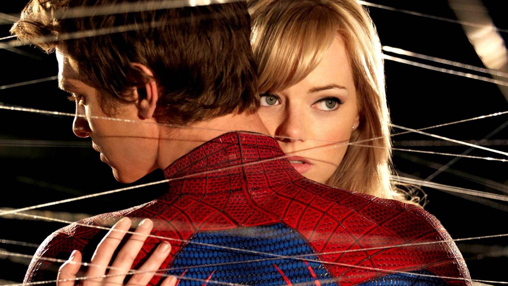 Обои Новый человек-паук, эмма стоун, Emma stone, the amazing spider-man. Фильмы foto 16