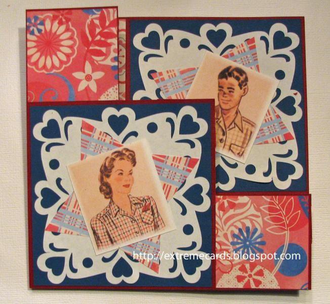 Valentine Pop Up Step Card Cardmaking Pinterest Step Cards