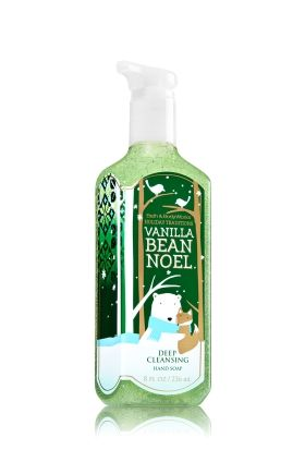 Vanilla Bean Noel Deep Cleansing Hand Soap Bath Body Works