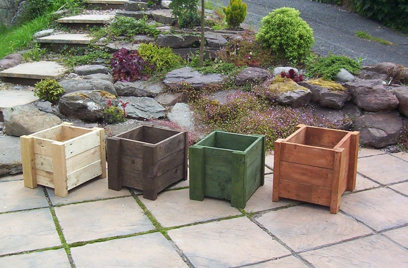 nice planters for front deck for the love of pallets