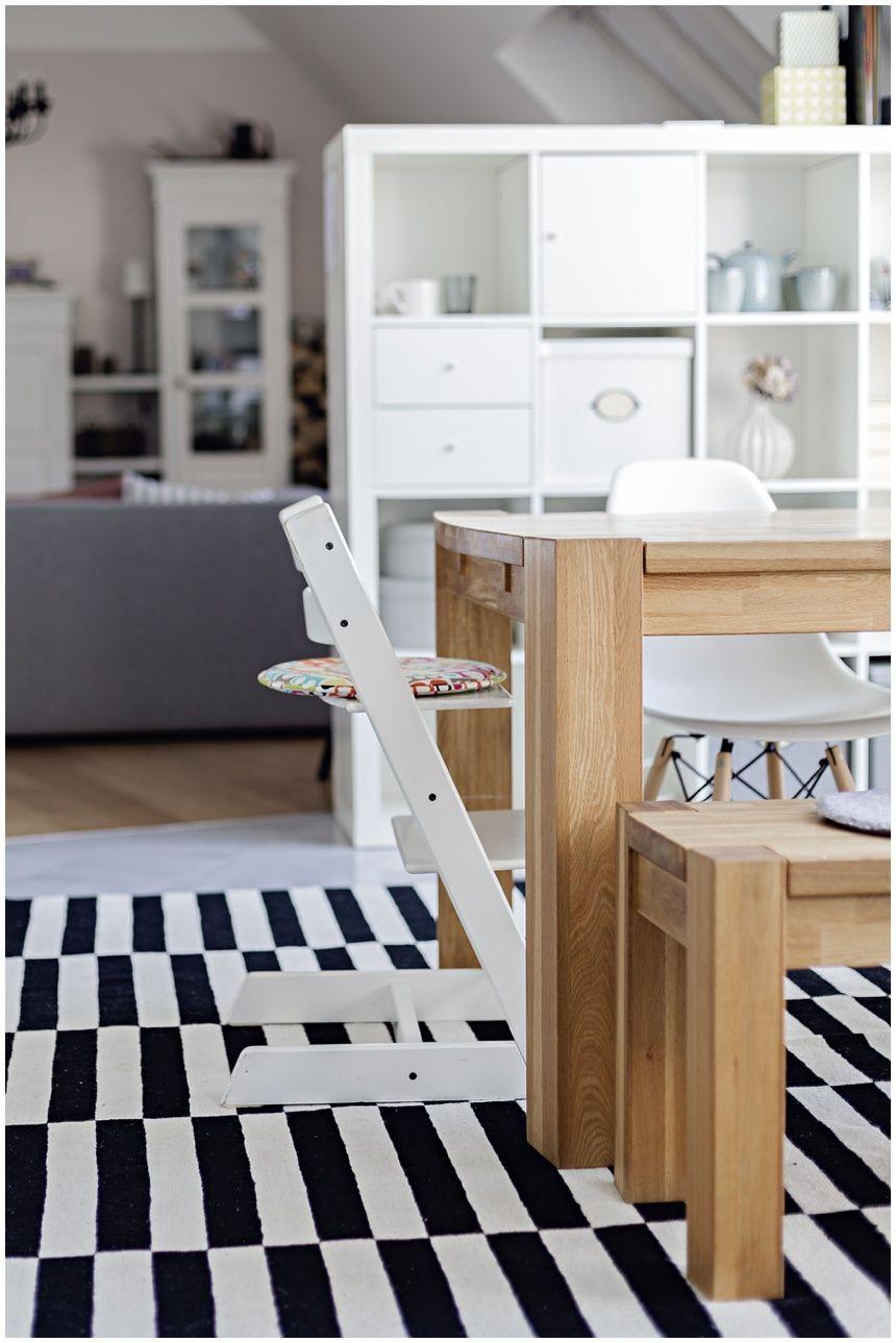 Trendiger Teppich von Ikea Stockholm | Pinterest | schwarz weiß ...