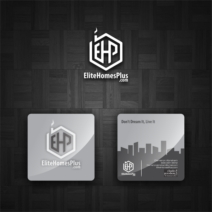 Real estate logo and unique business card for me by keener logo real estate logo and unique business card for me by keener colourmoves
