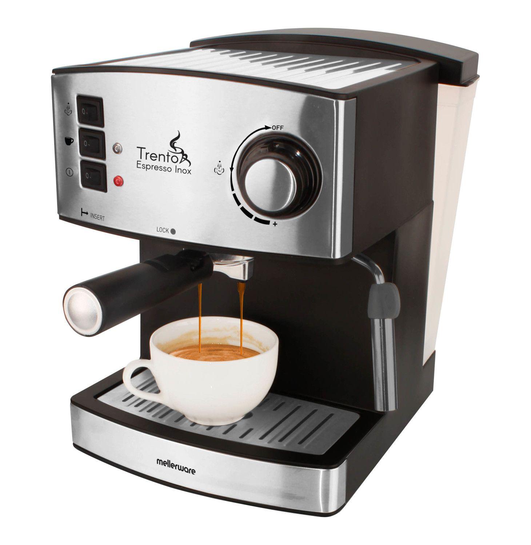 Mellerware 16 L Espresso Machine Stainless Steel  Lowest Prices