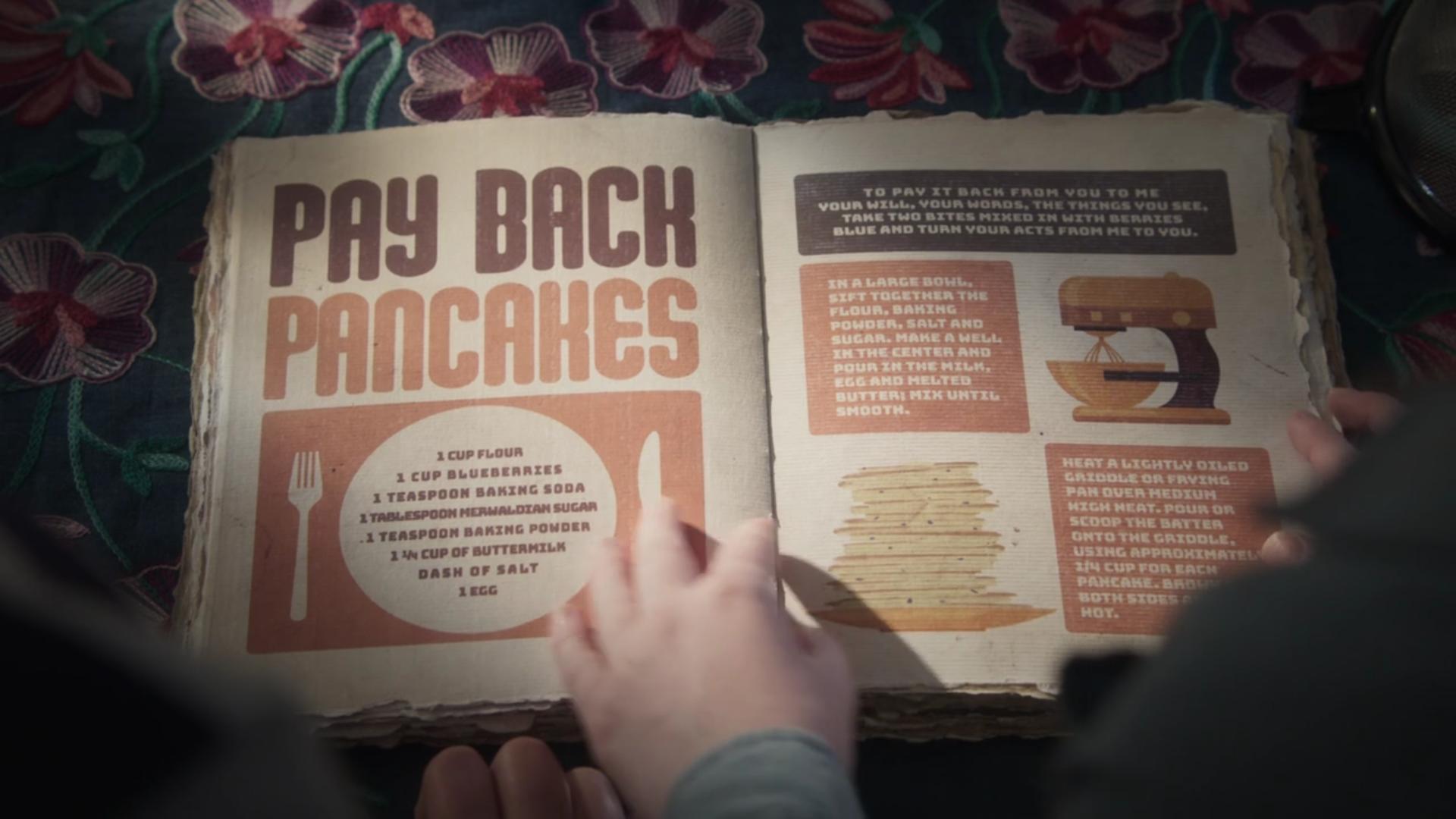 Pay Back Pancakes Just Add Magic Magic Recipe Recipe Book Diy