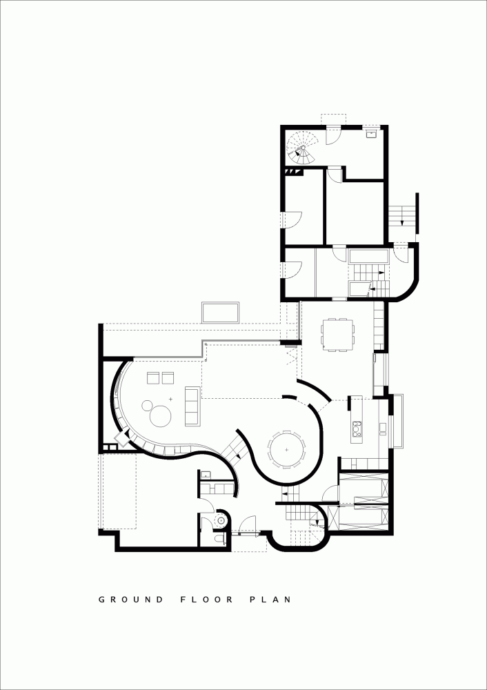 Drawing House Floor Plans: Gallery Of House N Hasselt / MASSARCHITECTS