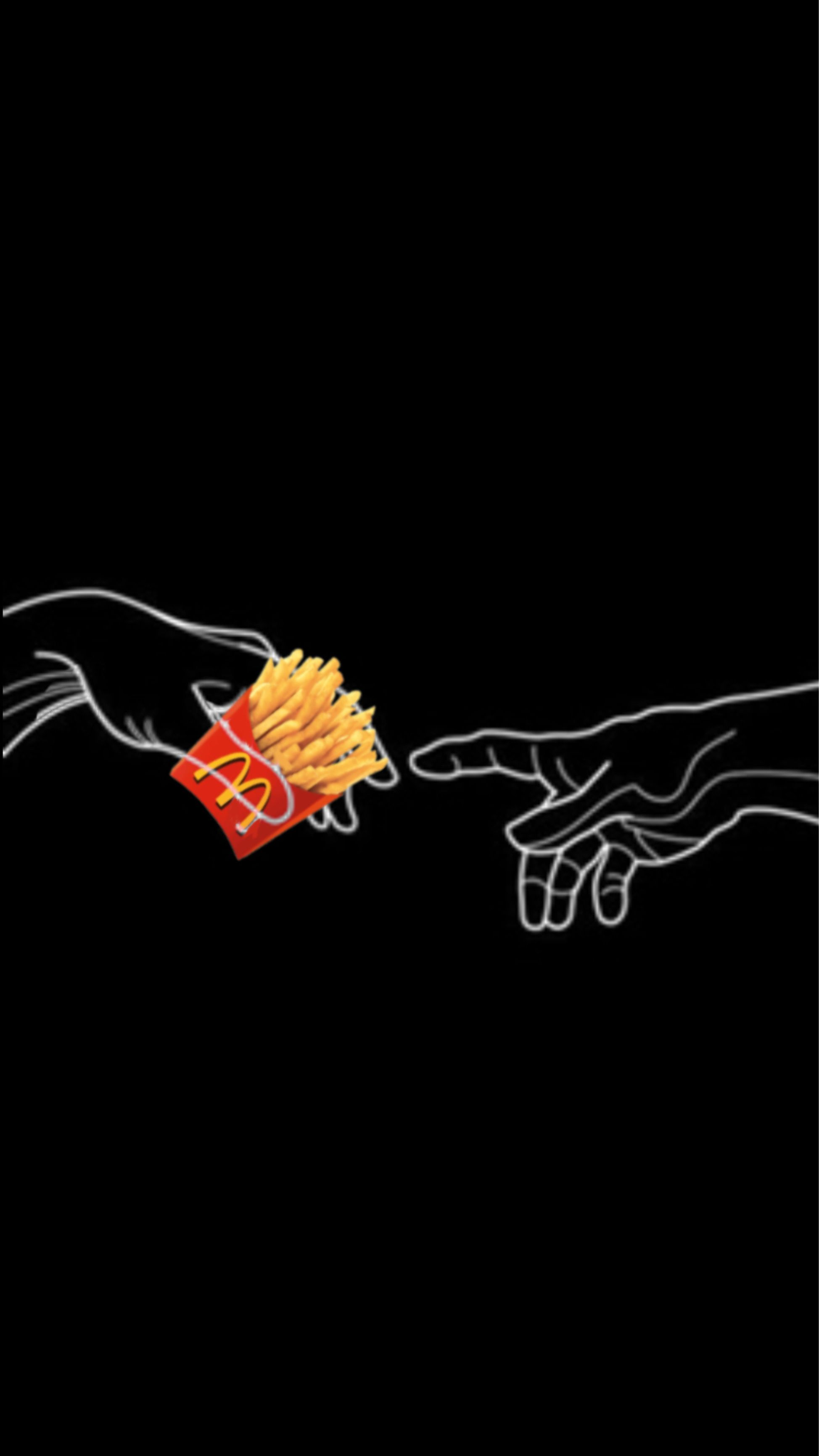 Pass The Fries Iphone Wallpaper Cute Wallpapers Neon Aesthetic