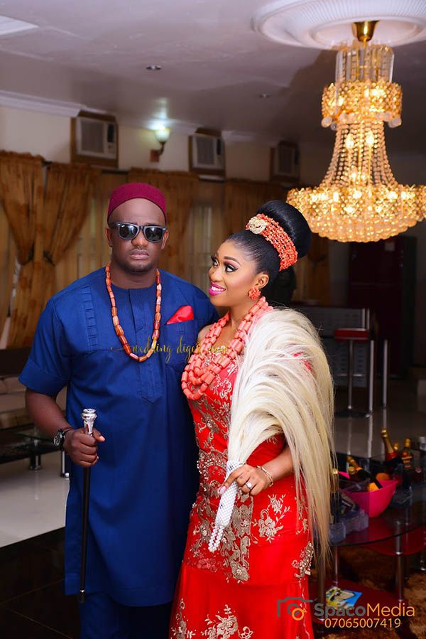 Chioma and Obiora\'s Igbo traditional wedding is filled with all ...