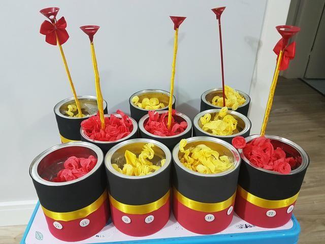 Tavolo Compleanno Topolino : Centro de mesa mickey pós festa topolino