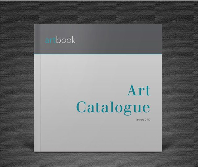 Stunning Portfolio Template For Indesign: Download Free Art Catalogue InDesign Template And Create