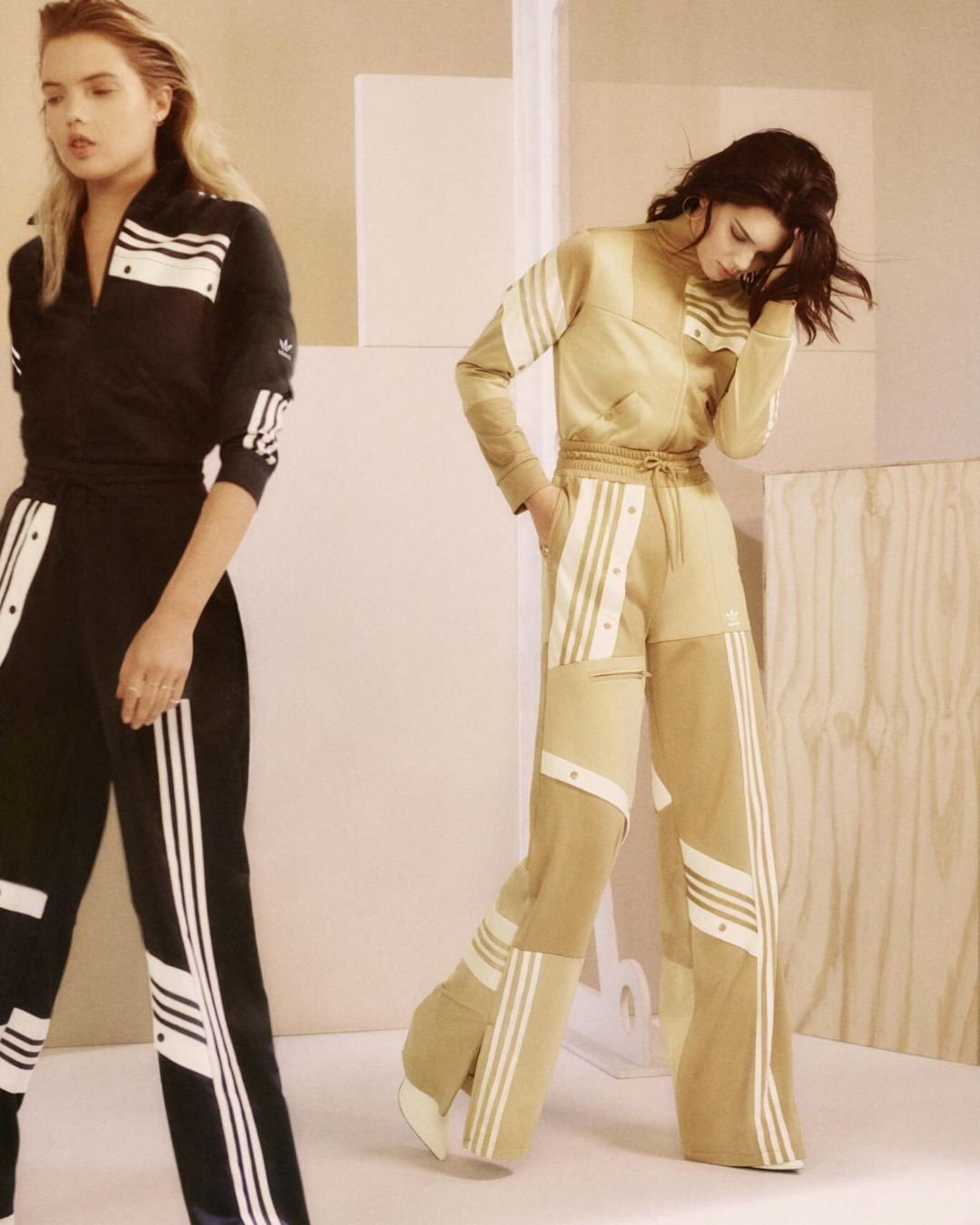 Kendall Jenner Models the Danielle Cathari x Adidas Originals Collection