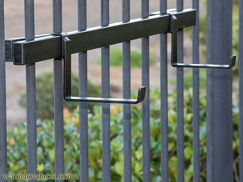 Deck Brackets For Hanging Rail Planters Windowbox Com Planter Boxes Hanging Plants Railing Planters
