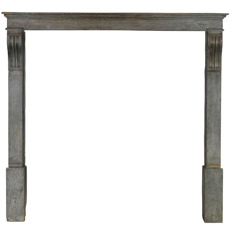 Stdibs Stone Antique Mantle Country French Fireplace