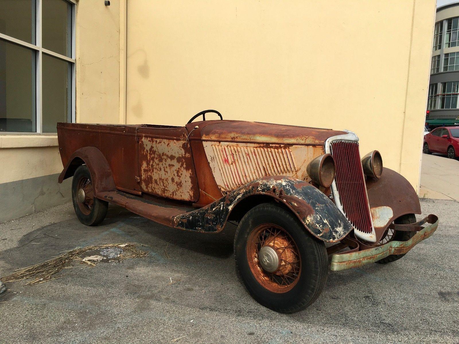 1934 Ford Australia Roadster Ute ModelsBarn FindsMotor