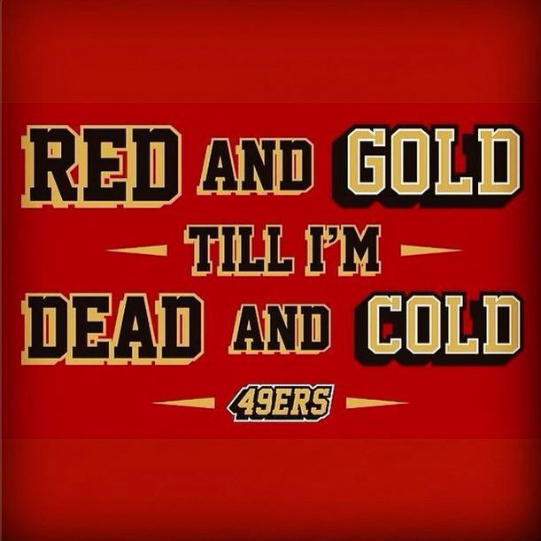 fd8def28fc4 Red and Gold Till I m Dead and Cold