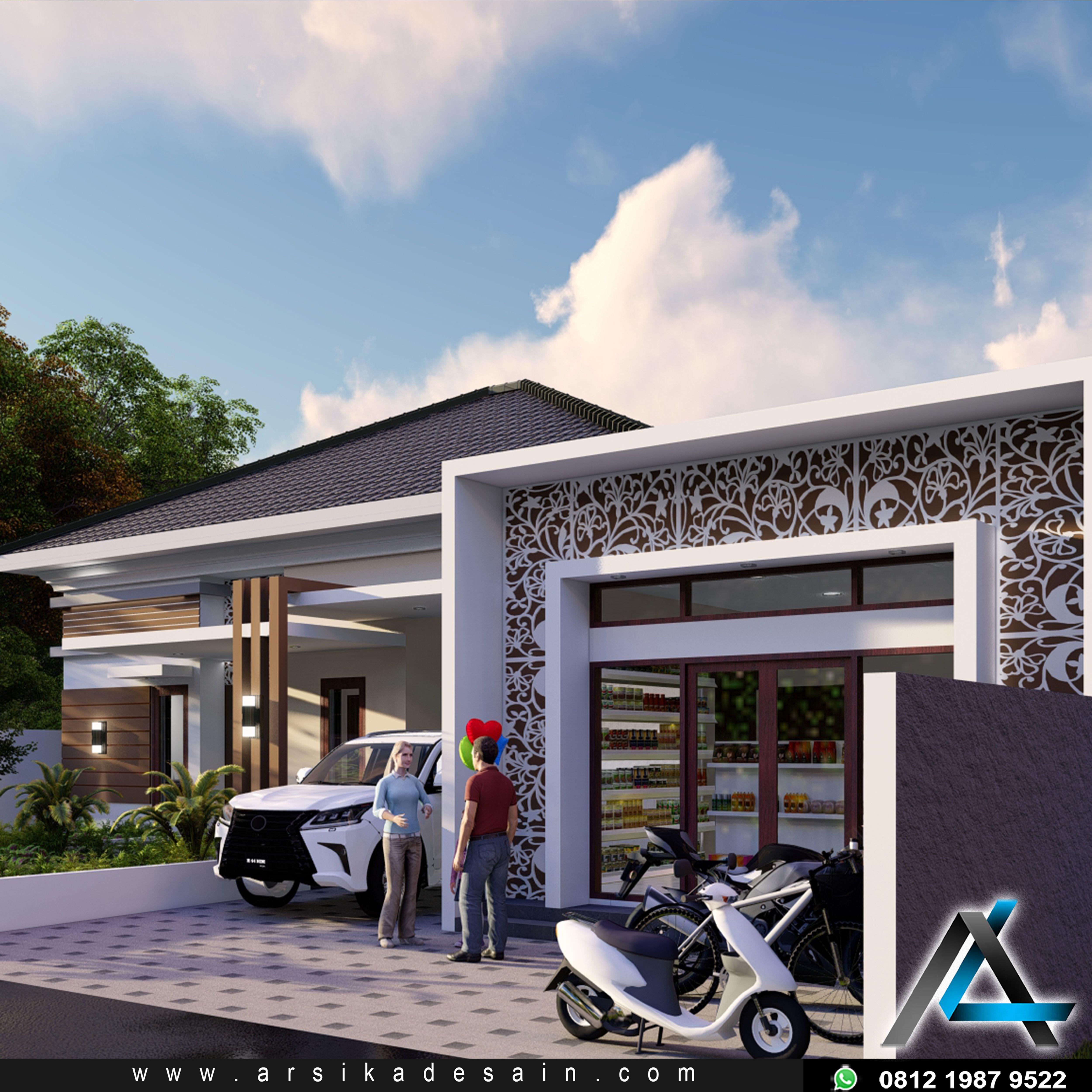 Model Atap Rumah Minimalis 12x14