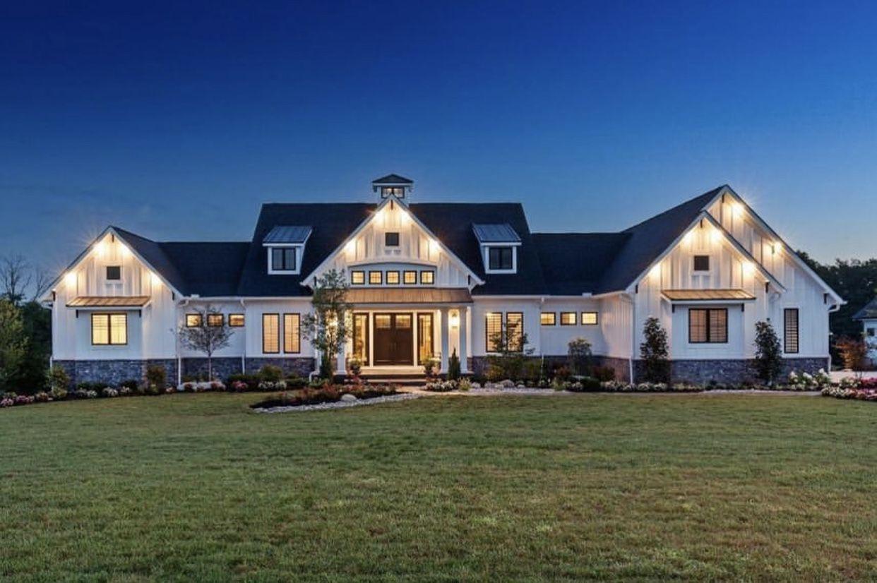 37++ Modern farmhouse ranch exterior ideas in 2021