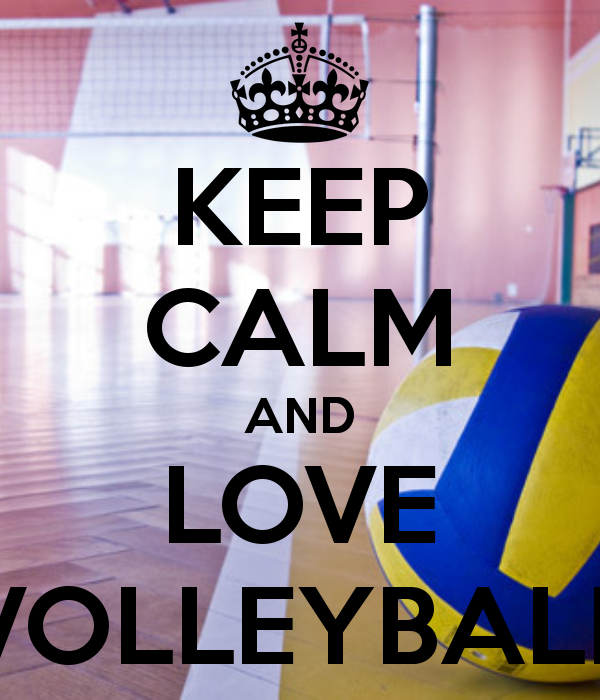 KEEP CALM AND LOVE VOLLEYBALL. | Keep Calm | Pinterest ... I Love Volleyball Wallpaper