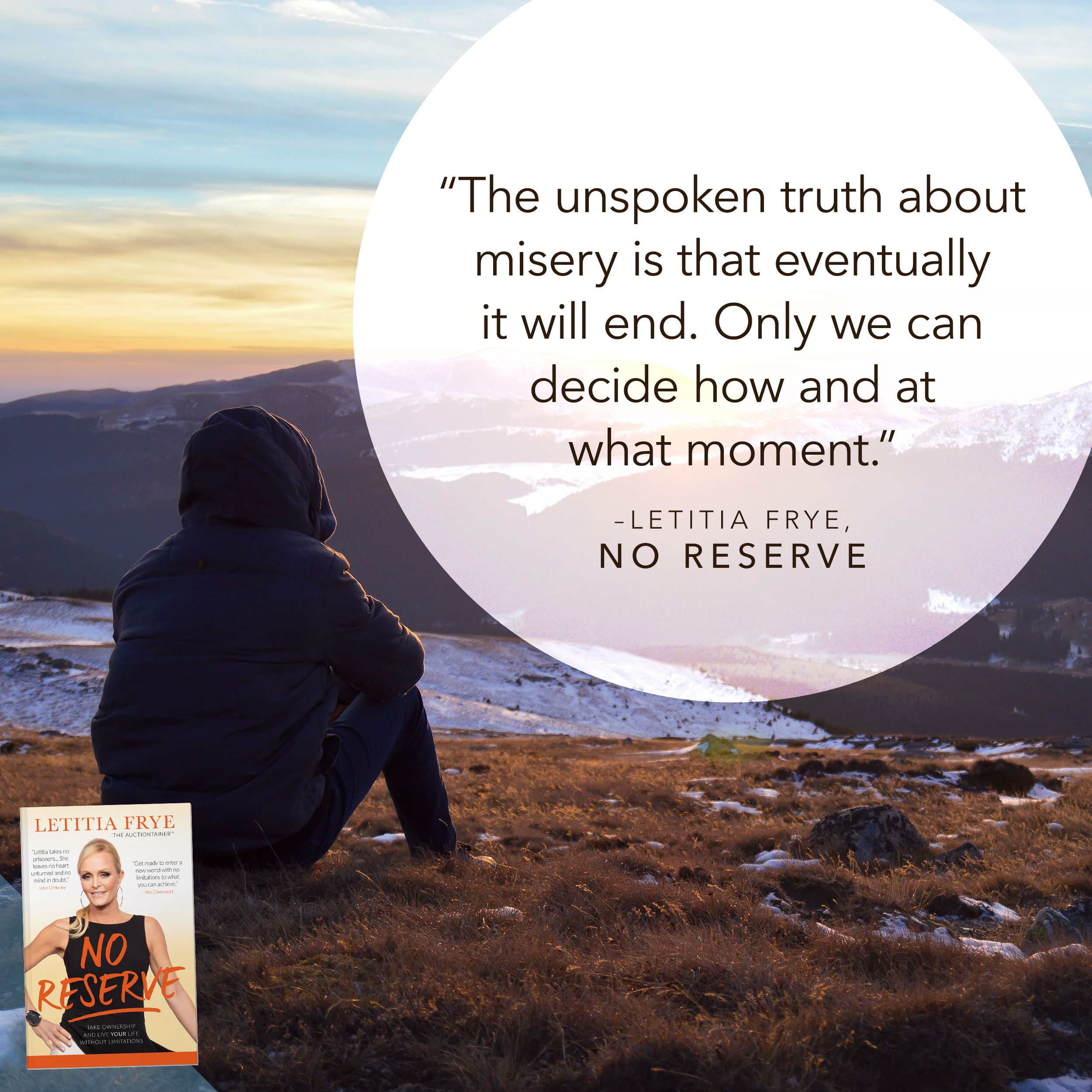 Today, will you decide to get the maximum value out of life that you deserve?  Today, will you take the reserve off your life so that you can enjoy freedom, joy, and endless opportunity?   Today, will you love yourself enough to go all in on your dreams?  #noreserve #noreservebook #auctionlife #auctiontainer #success #risk #allin #inspiration #motivation #empowerment #liveyourlife #purpose #passion #dreams #goals #personalgrowth #personaldevelopment #personaldevelopmentbooks #soundwisdom