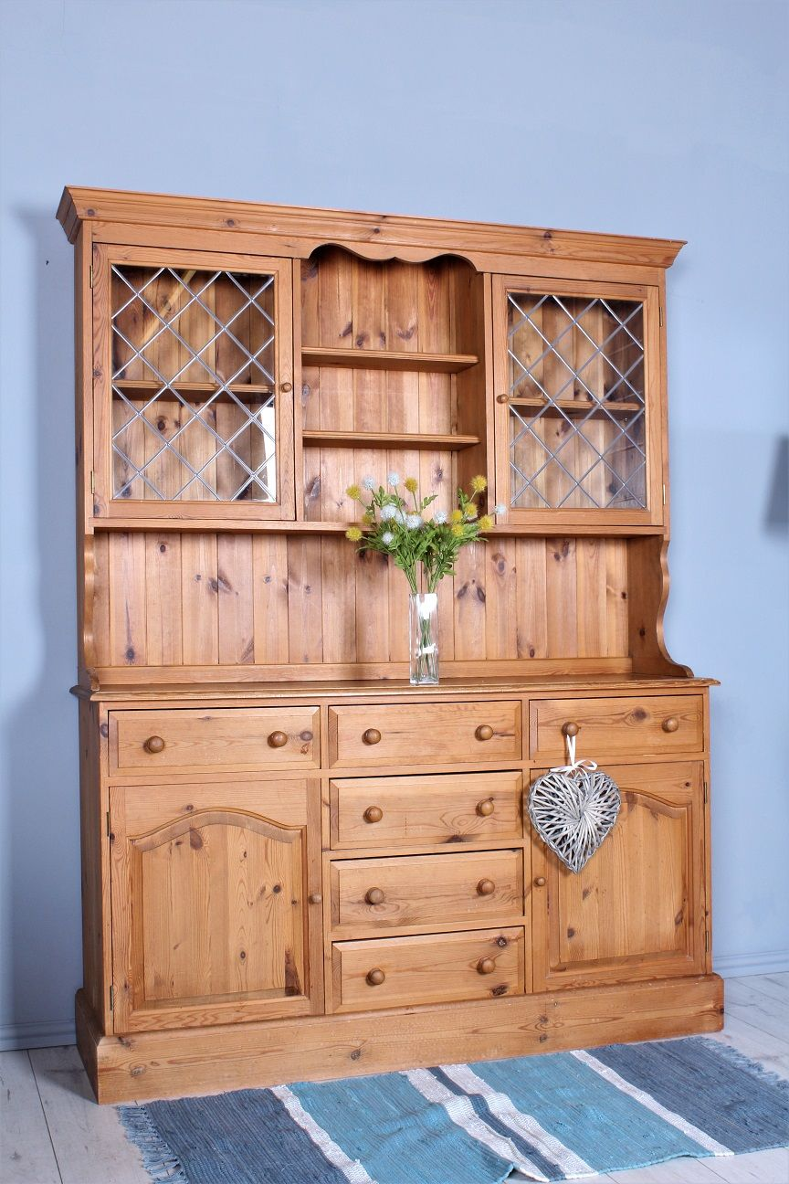 £269 Quality 5 ft country farmhouse kitchen welsh dresser