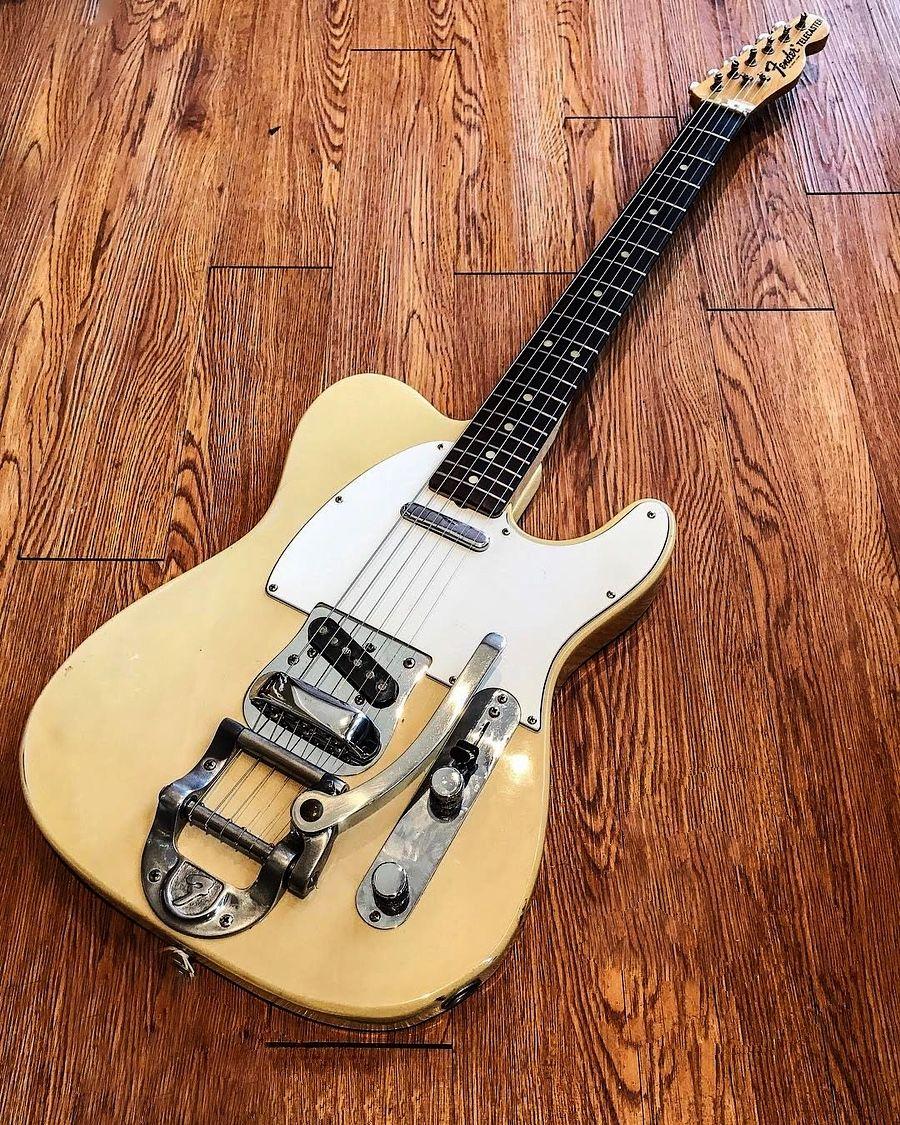 1972 fender telecaster with whammy bar guitars amps pedals in 2019 guitar vintage guitars. Black Bedroom Furniture Sets. Home Design Ideas