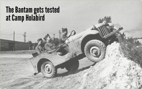 Birth Of The Jeep Sept 23 1940 Camp Holabird Maryland The Us Army Tests American Bantam S Prototype Reconnaissance Vehicle Old Jeep Willys Jeep Bantam