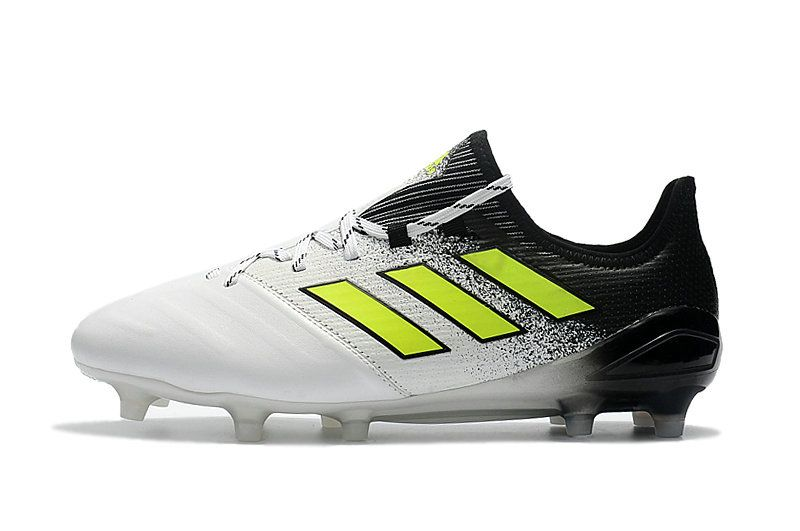 wholesale dealer 94b51 99813 2018 FIFA World Cup Russia Adidas ACE 17 1 Leather FG White Black Yellow