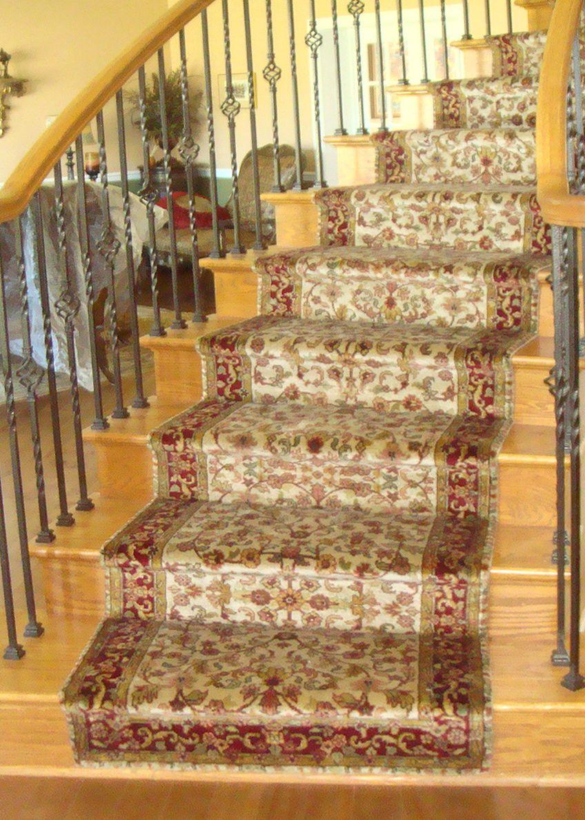 Best Nejad Rugs Staircase Runner Installation In Skippack 400 x 300