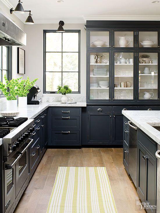 Country Kitchen Ideas  Kitchen Styling Dark Kitchen Cabinets And Cool Dark Kitchen Designs Decorating Inspiration