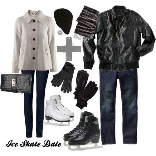 Ice Skate Date #vegan #fashion #crueltyfree #black #sleek #warm