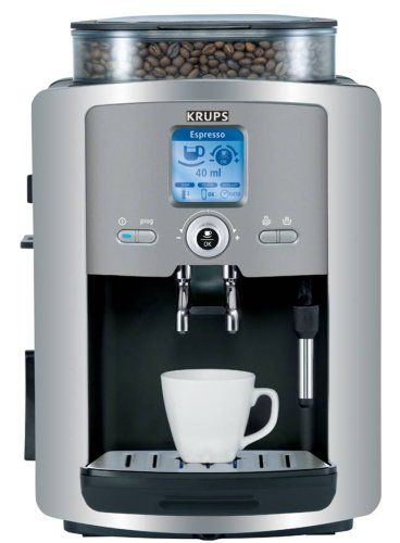 Discount Krups Xp7225 Compact Fully Automatic Espresso Machine Automatic Espresso Machine Espresso Machine Home Espresso Machine