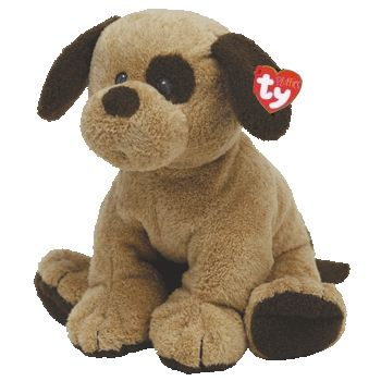 Ty Pluffies Barkers The Dog Retired Baby Ty Dogs Toys Dog Beanie