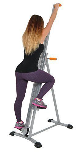 Details about vertical climber machine exercise stepper cardio