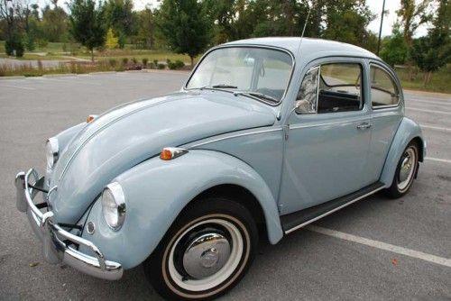 SOLD — L639 Zenith Blue '67 Beetle | Volkswagen Kever