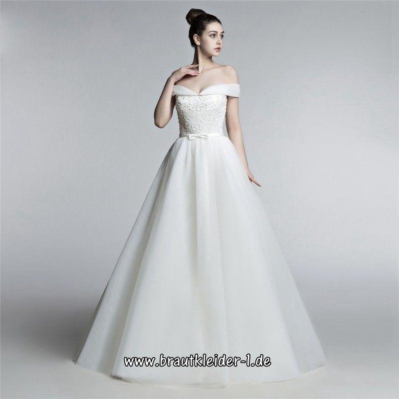 Waren des täglichen Bedarfs 2020 Genieße den reduzierten Preis Schulterfreies Brautkleid 2018 Christiana im Brautkleider ...