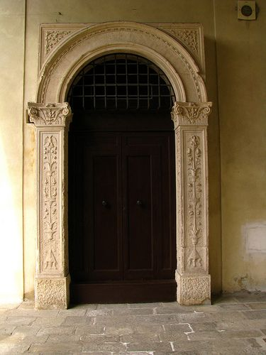 Renaissance door Palazzo dei Diamanti Ferrara Italy   Flickr Intercambio de fotos & Renaissance door Palazzo dei Diamanti Ferrara Italy   Doors