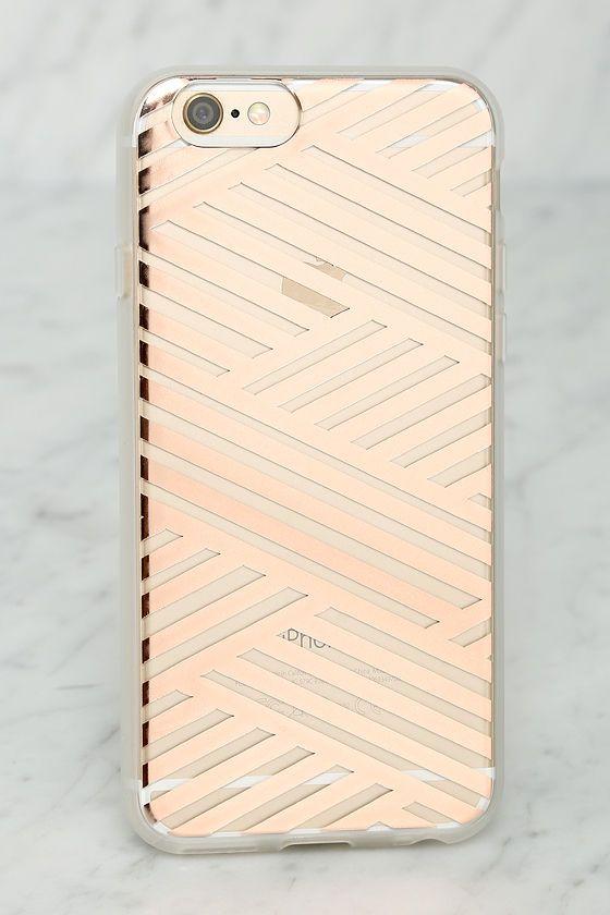 Rose Gold iPhone 6 Case//