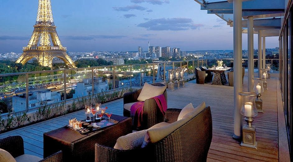 Romantic dinner in paris the art of table pinterest for Luxury romantic hotels