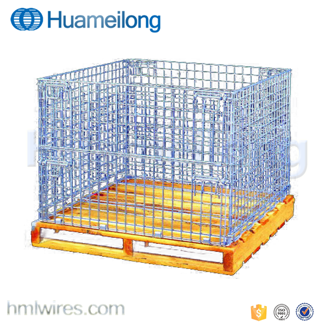 Time To Source Smarter Metal Wire Galvanized Pallet