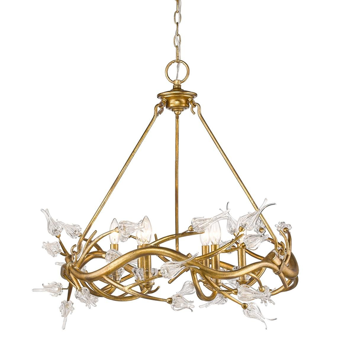 Flowering branches small loop chandelier 1299 29h x 28 wide flowering branches small loop chandelier 1299 29h x 28 wide love arubaitofo Choice Image
