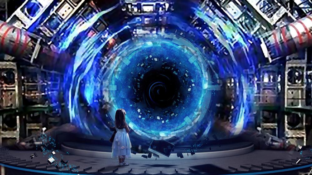 Time Machine Google Search In 2020 Mandela Effect Portal Art Large Hadron Collider