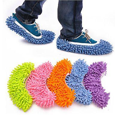 Creative Lazy folks kærlighed Water Sucking / mopning Slippers (tilfældig farve) – DKK kr. 68
