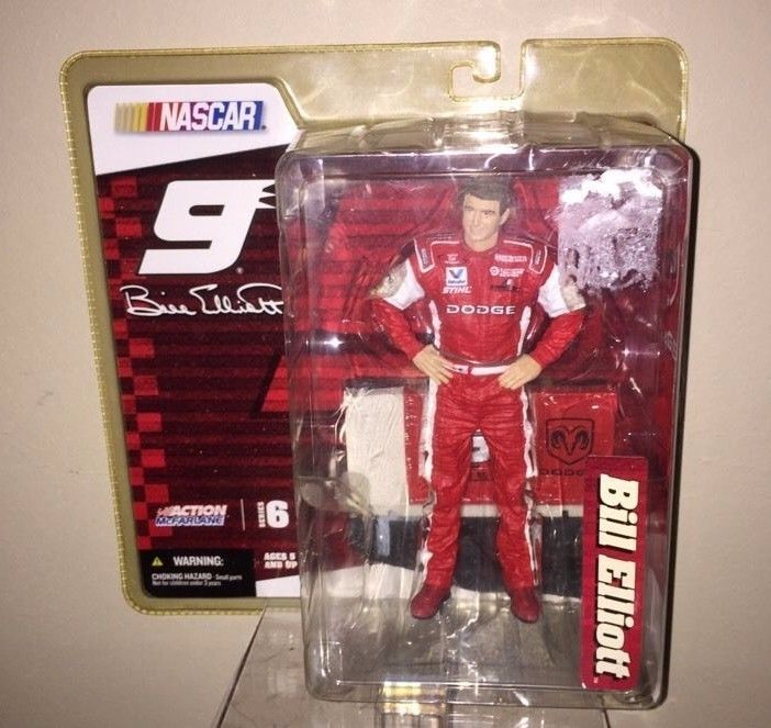 Bill Elliott Number 9 NASCAR 2005 Action Figure Dodge Unisex Adult