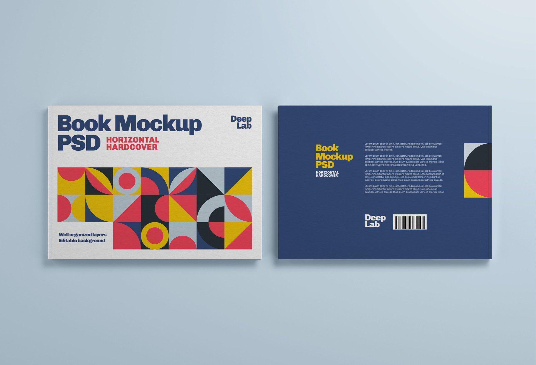 Download Horizontal Book Cover Mockup Set In 2020 Book Cover Mockup Book Texture Book Cover Yellowimages Mockups