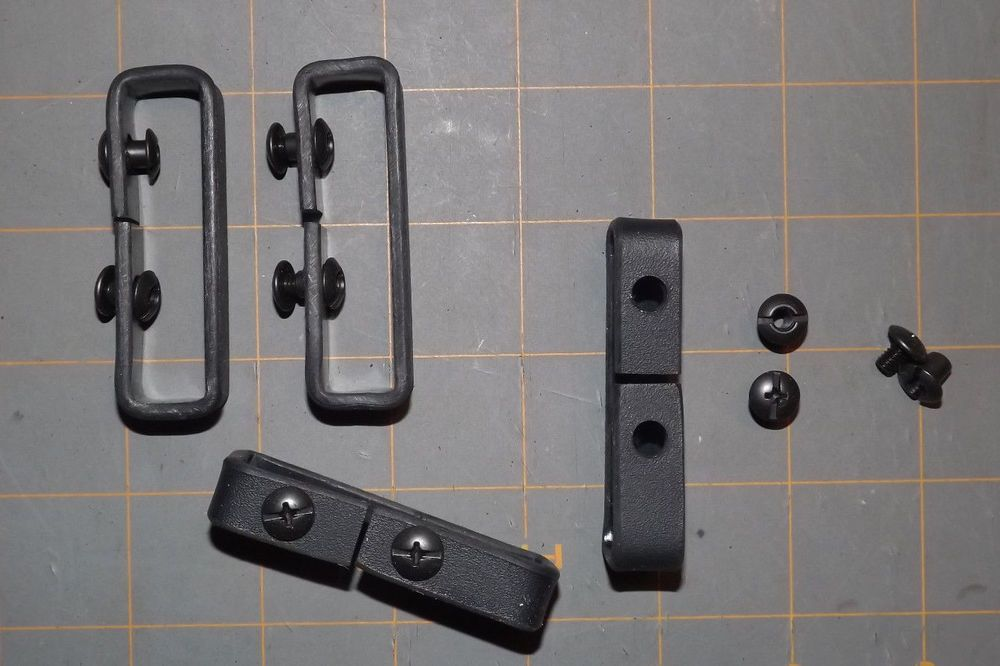 IWB Belt Loop clips for kydex holsters knives 1 3//4  inch 1 set RC customkydex
